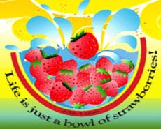 big weekend for strawberry festivals