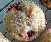 strawberry cinnamon muffins recipe