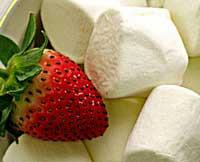 marshmallow strawberry tart recipe