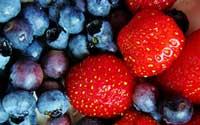 strawberry blueberry crisp recipe