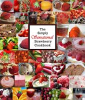 strawberry growing gift cookbook