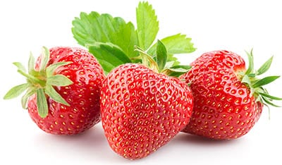 Three seet strawberries